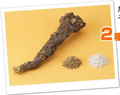 甘草とミネラル塩